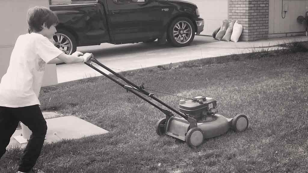 Mowing-Walker